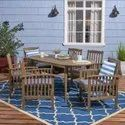 Outdoor Wooden Patio Dining Set