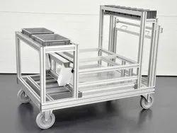 Aluminium Profile Trolleys