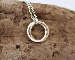 Custom Two Circle Necklace