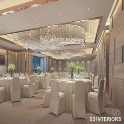 Banquet Hall Interior 3D Design