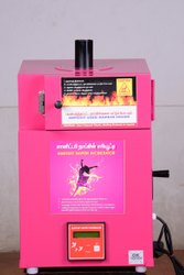 Auto Cut Off Sanitary Napkin Incinerator Machine