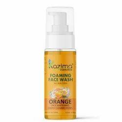 KAZIMA Foaming Face Wash ( Orange ) 120Ml