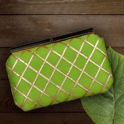 Gota Patti Embroidery Clutch