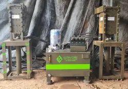 Interlock Brick Making Machine Full Setup