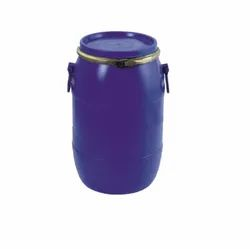 Blue 1 Hdpe Open Top Drum, For Industrial, Capacity: 0-50 litres