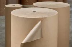 Brown Poly Coated Kraft Paper, Packaging Type: Roll, Paper Size: 50 Mm -1600 Mm