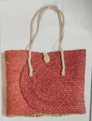 Mix Handled Handicraft Sabai Sea Kauna Grass Everyday Tote, Size: 12