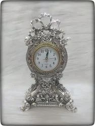 Silver Decoration Items With Watch