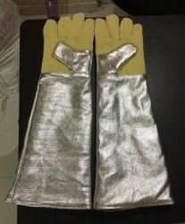 Kevlar Aluminized Hand Gloves