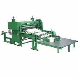 SCA-54M Rotary Reel To Sheet Cutter Machine