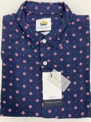 Denim & Flowers RAYON Men Flower Printed Shirt
