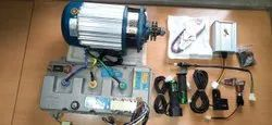 72V 3000W BLDC Gear Motor For Heavy Load, Phase: 1