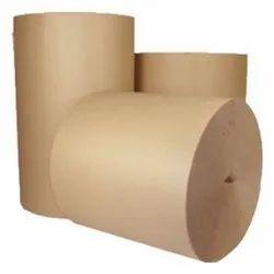 Recycled Pulp Brown Kraft Paper, Packaging Type: Roll, 150