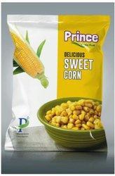 Prince Delicious Frozen Sweet Corn, Packaging Type: Packet