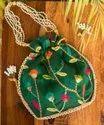 Irya Lifestyle Designer Draw String Potli