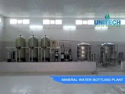 2000 LPH Mineral Water Turnkey Project