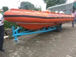 RIGID INFLATABLE BOAT 12 PERSONS (ONLY BOAT)