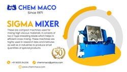 Sigma Double Arm Z Mixer
