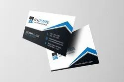 350gsm Self Design Visiting Cards, Size: 85x55mm