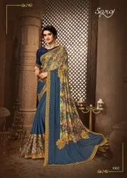 Fancy Digital Printed Saree
