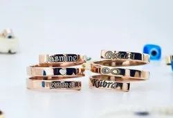Stackable Name Ring