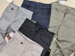 Boys Plain Trousers
