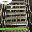 FRP Molded Grating For Shop Floor Staircase