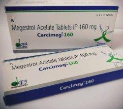 Megestrol Acetate Carcimeg 160 Tablet, 3x1x10 Tablets