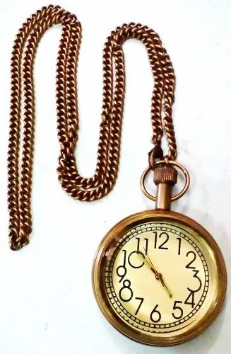 Antique Brass Pocket Watch At Rs 300 Piece Pocket Watches Id 11244866448