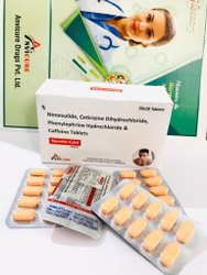 Nimesulide Cetirizine Dihydrochloride Phenylephrine Hydrochloride And Caffeine Tablets