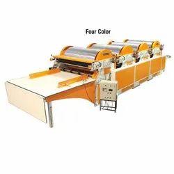 Four Color Flexo Paper Printing Machine