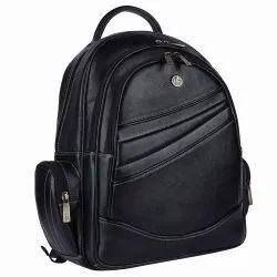 Hammonds Flycatcher Leather Black Backpack