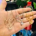 Custom Name Stethoscope Necklace