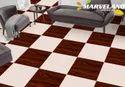 Marvel Glossy Porcelain Ceramic Floor Tiles, Thickness: 8 - 10 Mm, Size: 60 X 60 Cm