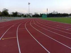Kagariya Pro Synthetic Running Track Rubber Flooring Service