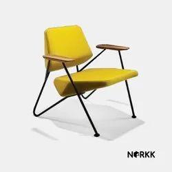 Yellow Polygon armchair