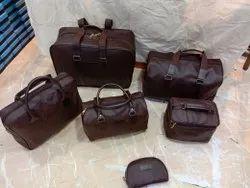 Leatherite Unisex 6pcs Set Combo Leather