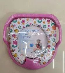 0.330 Kg 35.4 X 33 X 8 cm Pink Baby Potty Training Seat, Age Group: 1-3 Years