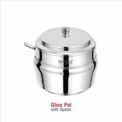 stainless steels Ghee Pot