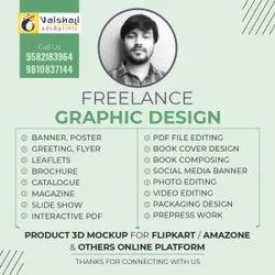 Posters and Banner Freelance Graphic Designing Service