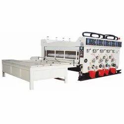 SCBC-C32 Flexo Printer Slotter Chain Feeding Die Cutter Machine
