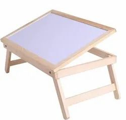 Mayumi Rectangular Multipurpose Foldable Wooden Table with Whiteboard, For Home