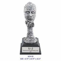 Achievers Face Trophy