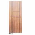 Wpc01 Wood Design Door, For Home
