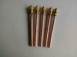 1 cm Copper Charging Nipple, For Gas Pipe
