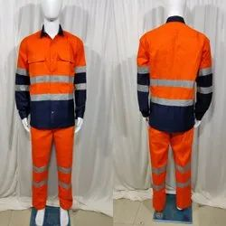 Full Sleeve Safety Shirt pent combined color