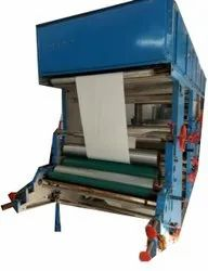 Stainless Steel Silicone Paper Platinum Printing Machine, For Industrial
