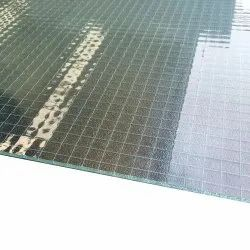 Transparent Wired Glass, Thickness: 10 Mm