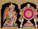 Symbol of God Vishnu 3d Painting