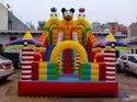 Three Face Bouncy Balloon